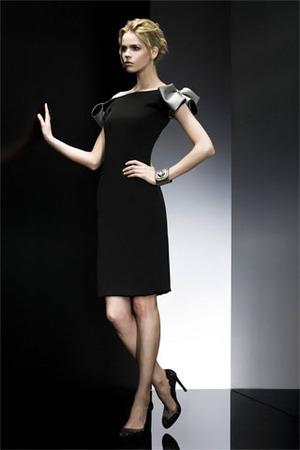 Giorgio Armani Little Black Dress - Mindthis
