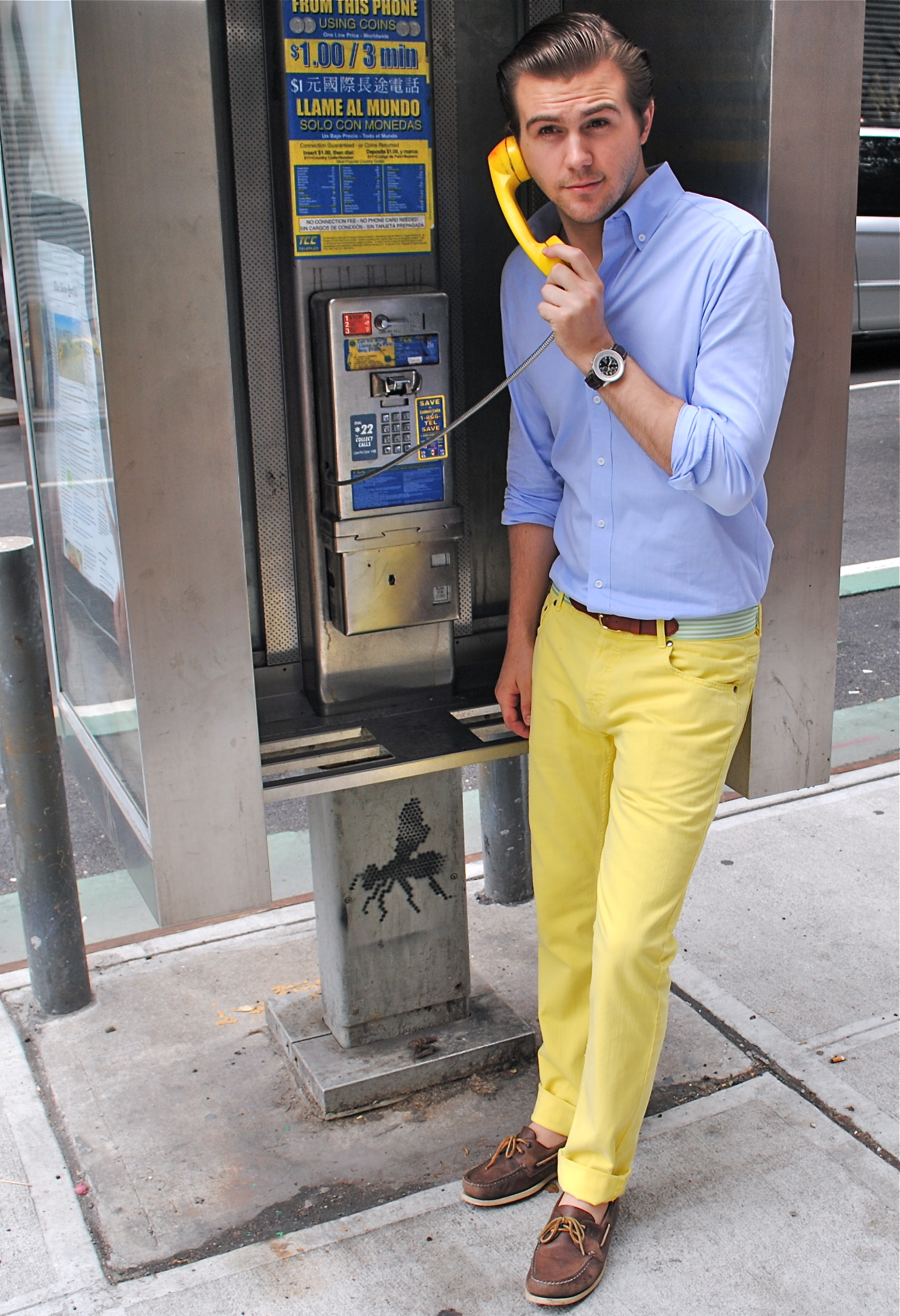 Yellow Pants Men Style