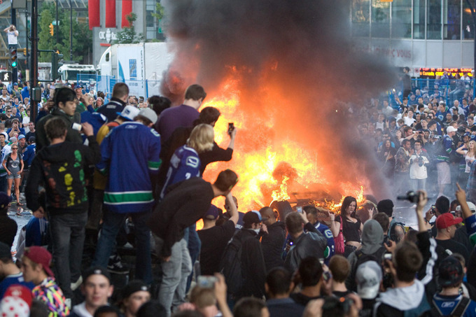 Hockey Boycott or the Vancouver Hockey Riot?