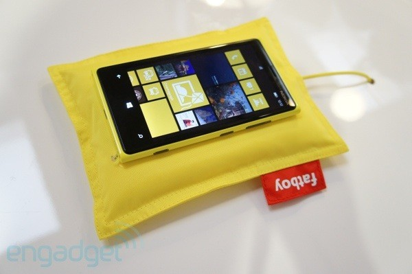 The Nokia Lumia is one of the first devices with wireless charging technology built-in.