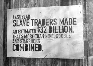 Sex trafficking is a $32 billion dollar industry, greater than the profits of Nike, Google and Starbucks combined