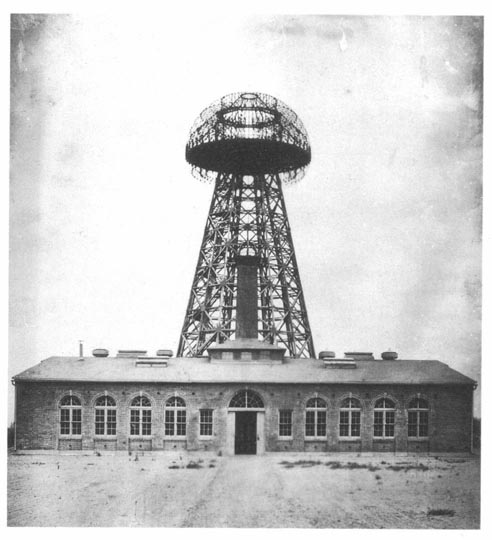 The first attempt at wireless charging was by Nikola Tesla at Wardenclyffe Tower.