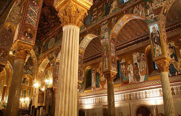 Palazzo dei Normanni in Palermo.