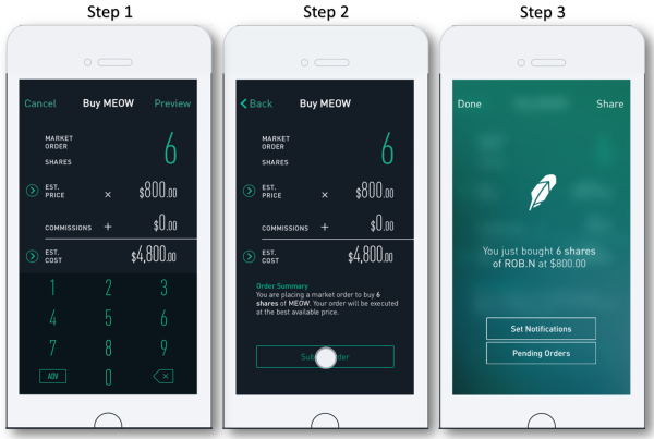 Robinhood-app-phone-steps